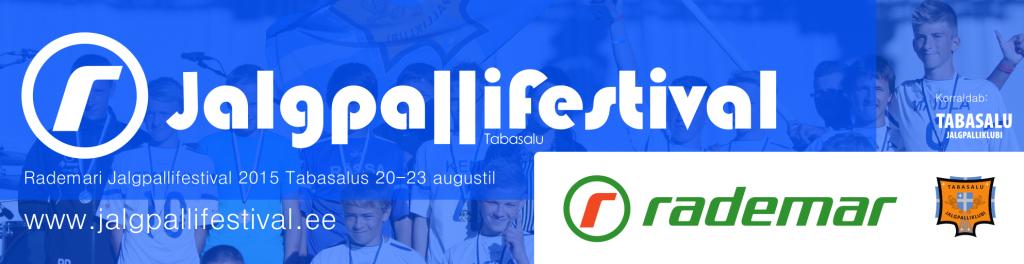 Slider - Rademari Jalgpallifestival 2015