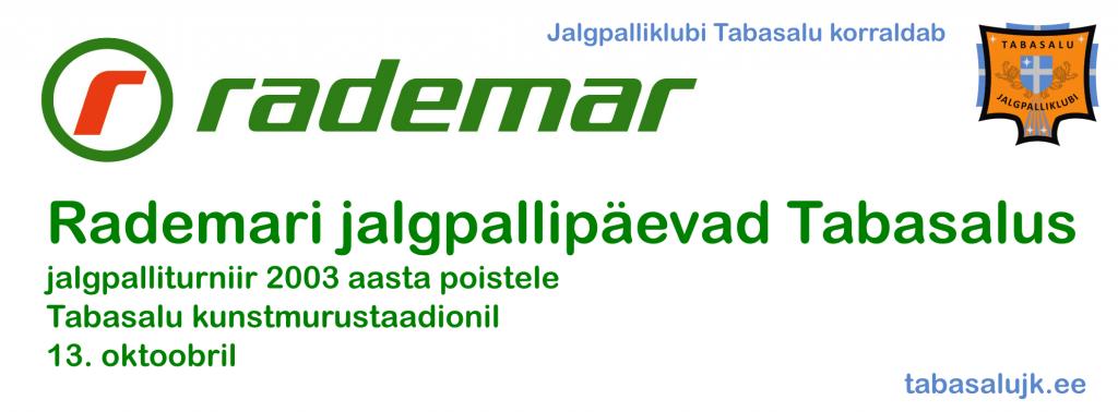 Rademar 2003 - event 13.10.13 2003