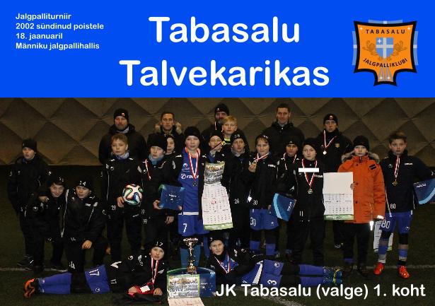 Tabasalu Cup - võitjameeskond
