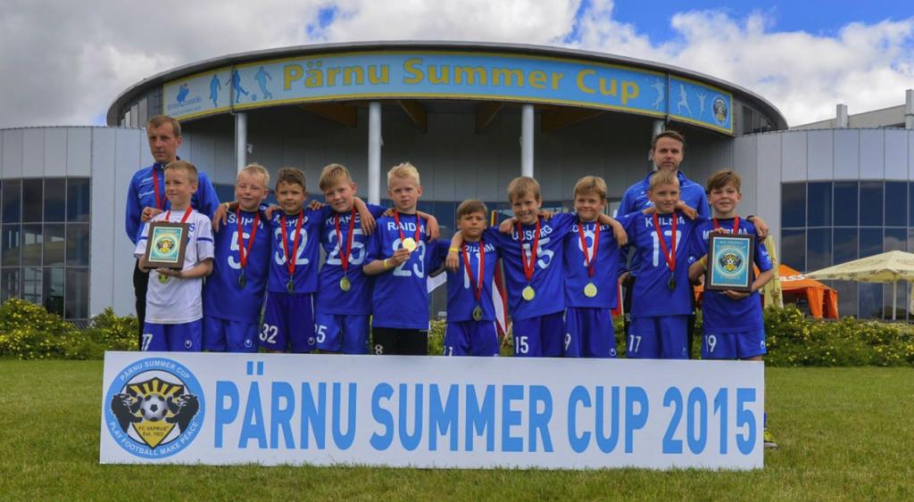 Pärnu Summer Cup 2015 võitjad