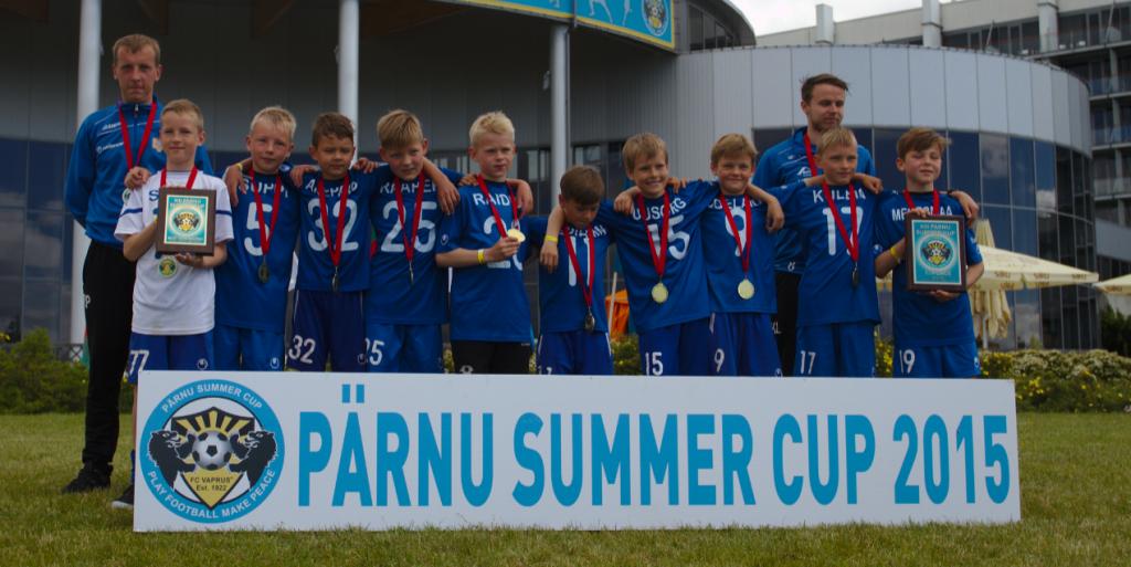 JK Tabasalu Summer Cup võitjad
