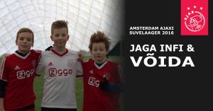 Amsterdam Ajaxi suvelaager Tabasalus - jaga facebooki reklaami