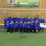 Jk Tabasalu 2003 poisid osalesid 26.-28.01.2018 Riga Cupil