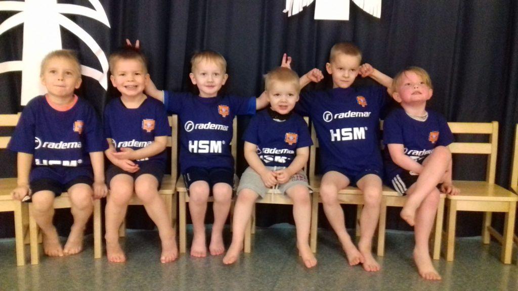 Meie lasteaialapsed said uued treeningsärgid!