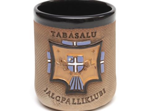 Tee- ja kohvikruus JK Tabasalu logoga