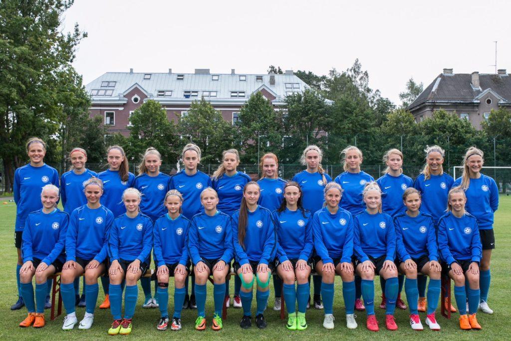 Tüdrukute U15 koondist ootab ees kodune Balti turniir