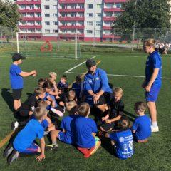 Meie kõige noorem grupp TG 2011 alustas treeningutega!