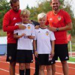 27.-31.augustil treenisid Tabasalus lapsi ehtsad Valencia jalgpallitreenerid