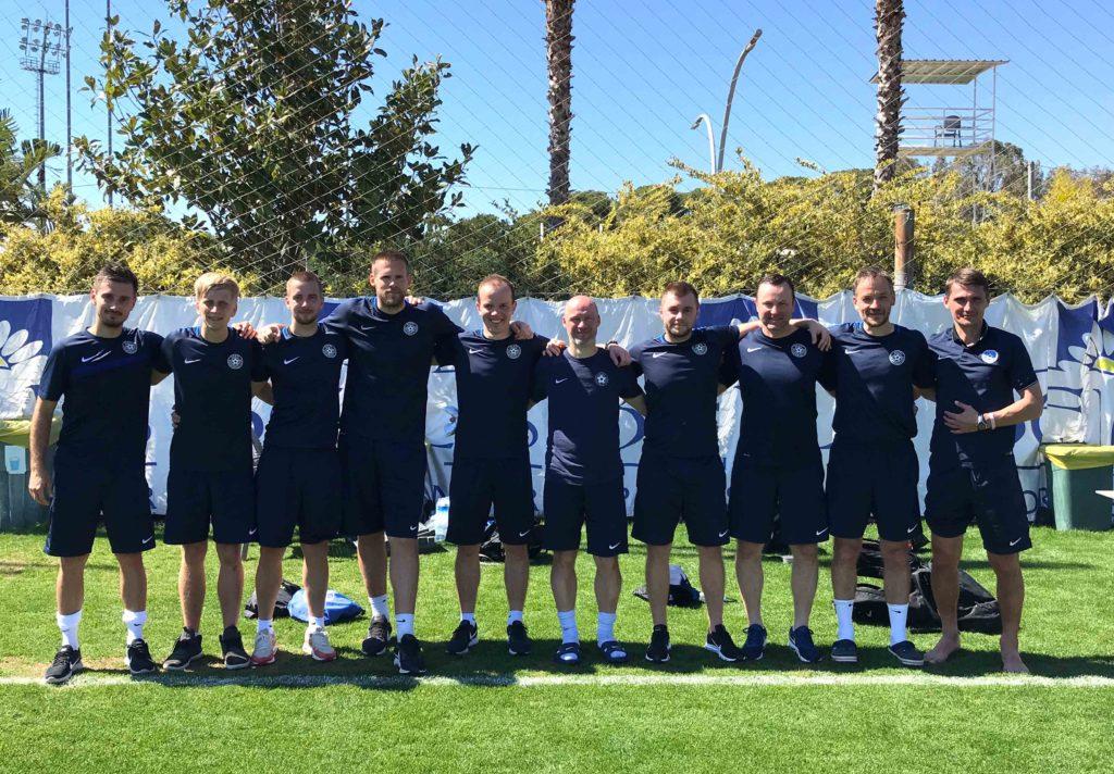 Meie treener Risto Sarapik käis koos Eesti U-21 meeskonnaga Türgis