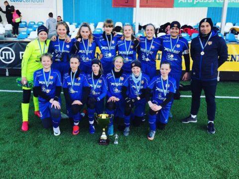 Meie U15 tüdrukud on Tammeka Juunior Cupi võitjad!
