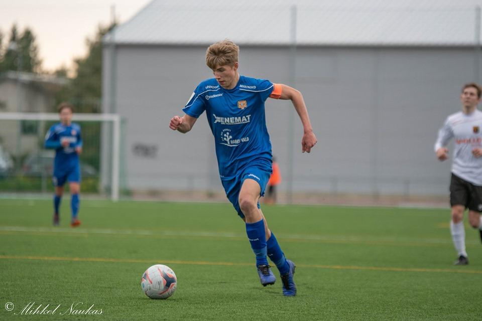 Kristo Hussar osaleb Eesti U19 koondise kogunemisel