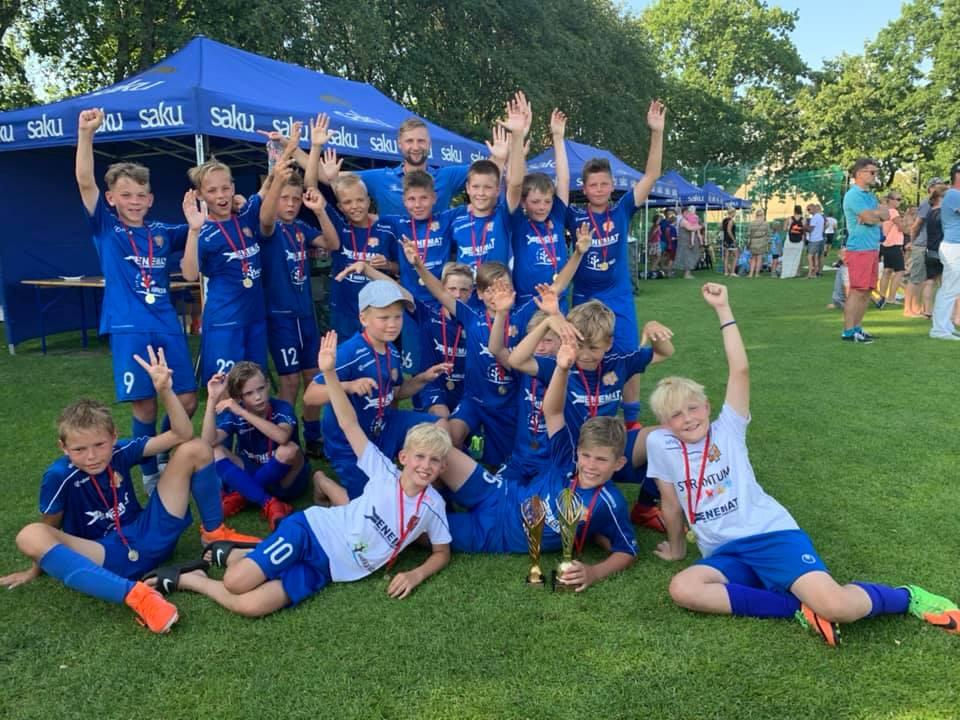 Meie 2008 poisid võitsid Pärnu Cupil I ja III koha
