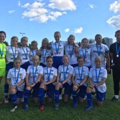TU15 tüdrukud tulid Helsinki Cupilt koju hõbedaste medalitega