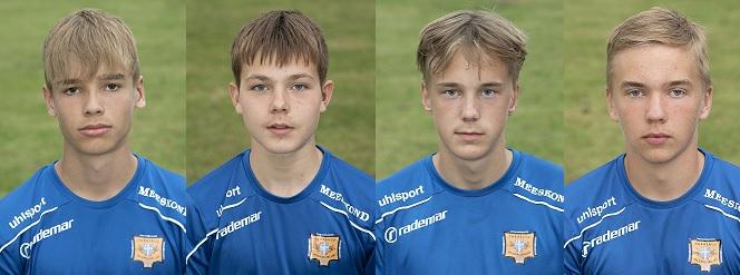 Meie 2004 poisid osalevad Eesti U16 II koondise kogunemisel