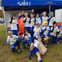 2008 poisid tulid Saku Cupilt koju kuldmedalitega!