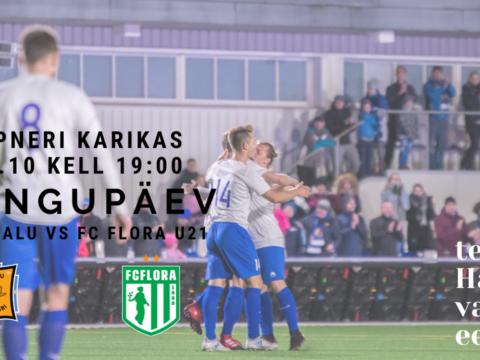 Homme 29.10 Tabasalu Arenal 1/16 Tipneri KARIKAMÄNG FC Flora U21 vastu