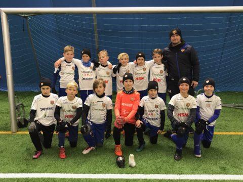2009 poisid võitsid Soomes Halloween Cupil I koha