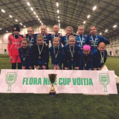 2007-09 grupi tüdrukud võidutsesid Flora Nike Cupil