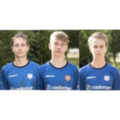 Meie noormehed Eesti U17 ja U17 II koondises