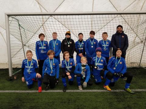 2008 valge grupi poisid saavutasid Nõmme Cupil II koha