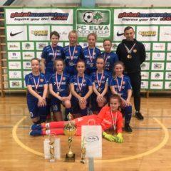 Tüdrukud tulid Elva Indoor Cupilt koju kulla ja pronksiga!