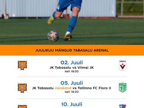 Juulikuu mängud Tabasalu Arenal