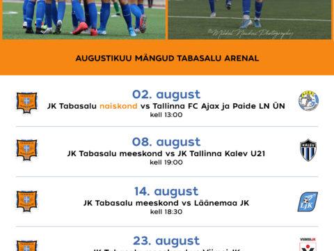 Augustikuu mängud Tabasalu Arenal