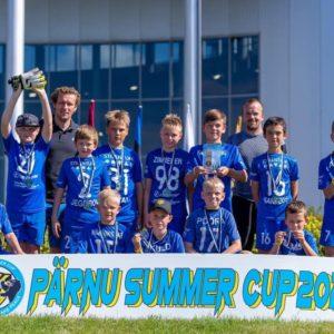 Pärnu Summer Cup 2020 edukalt selja taga