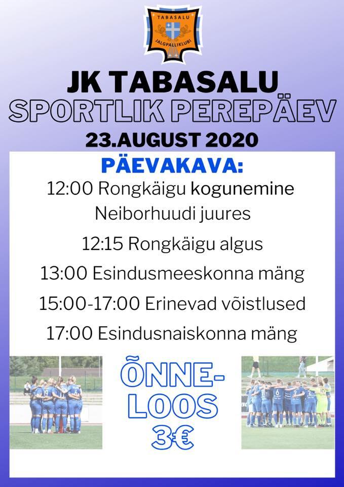 JK TABASALU SPORTLIK PEREPÄEV 23.08