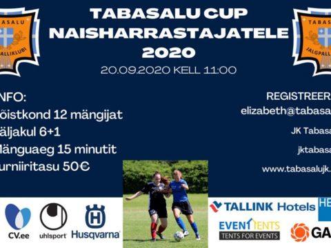 JK Tabasalu naisharrastajad kutsuvad turniirile 20.09.2020