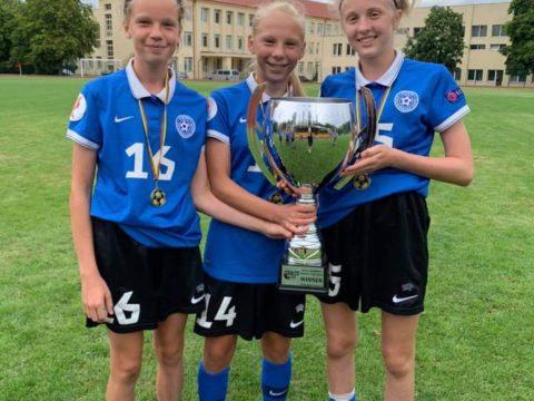 Tüdrukute U15 koondis võitis Balti turniiril I koha