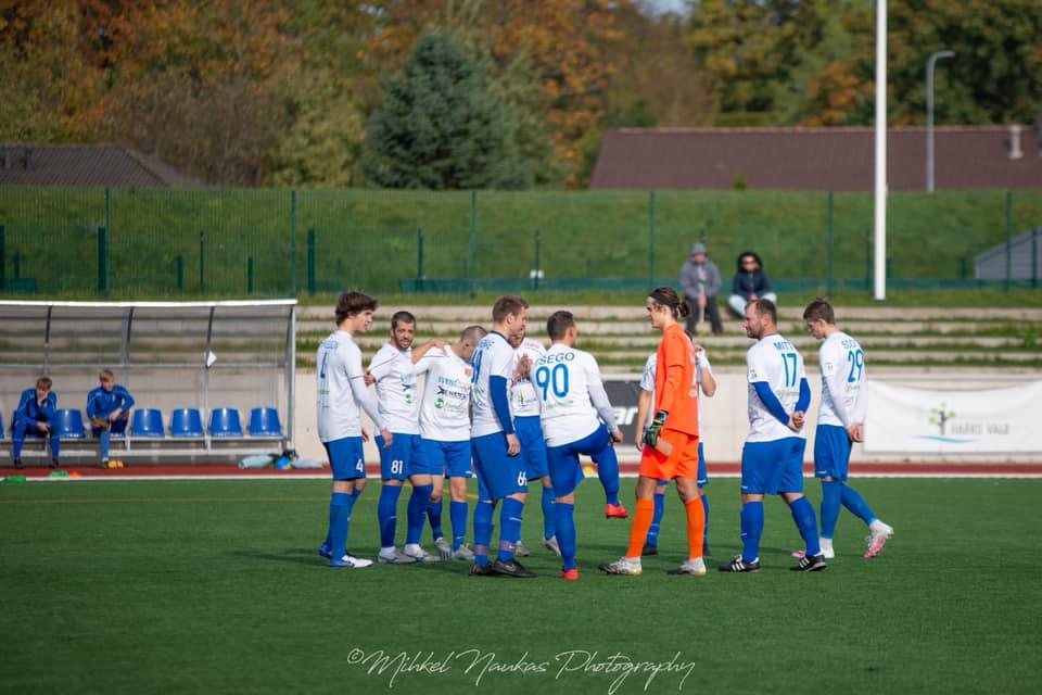 Duubelmeeskond võitis koduväljakul 3.liiga liidrit FC Pocarr´i