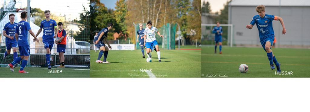 Eesti U19 koondise kogunemisel 3 Tabasalu mängijat