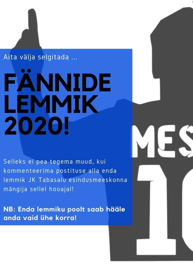 FÄNNIDE LEMMIK 2020