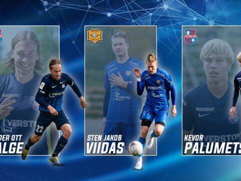 Sten Jakob Viidas on 3 parima Esiliiga B mängija hulgas