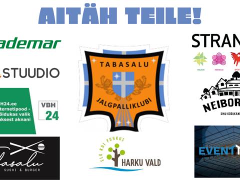 Täname meie sponsoreid ja toetajaid!