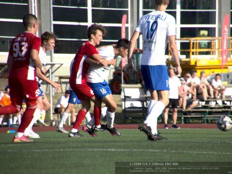 Esindusmeeskond viigistas võõrsil mängu liiga liidriga