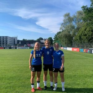 Neidude U19 Balti turniiril osales meie klubist 3 mängijat