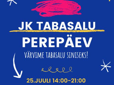 JK Tabasalu perepäev toimub 25.07 Tabasalu Arenal