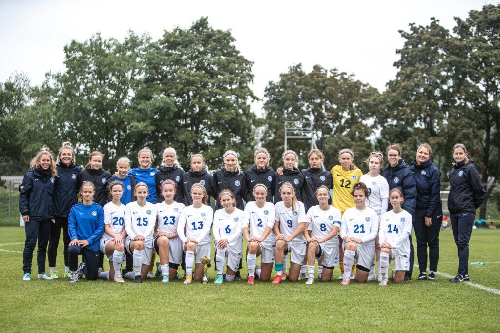 Meie U15 neiud osalesid koondisega Balti turniiril