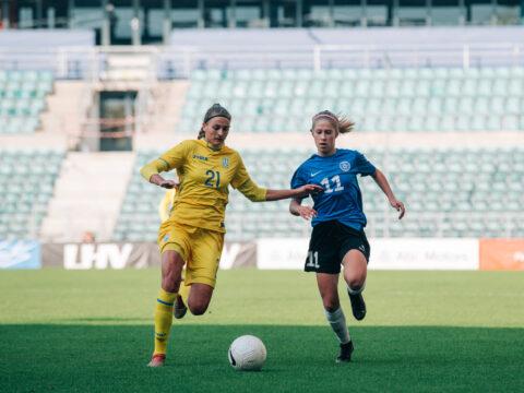 Eesti neidude U17 koondise mängudel 3 Tabasalu tüdrukut