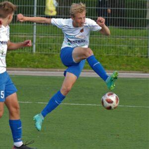 Eesti U16 koondise ridades meie klubi mängija Sigvard Suppi
