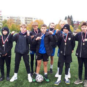 Tabasalu jalkapoisid koolidevahelisel turniiril Harjumaa Meistrid 2021