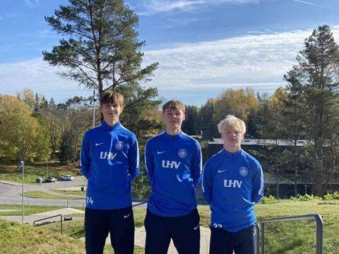 Meie 3 mängijat osalevad Käärikul Eesti U17 koondise kogunemisel